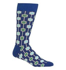 Hotsox Hotsox Men's Printed Crew Socks HMP00011