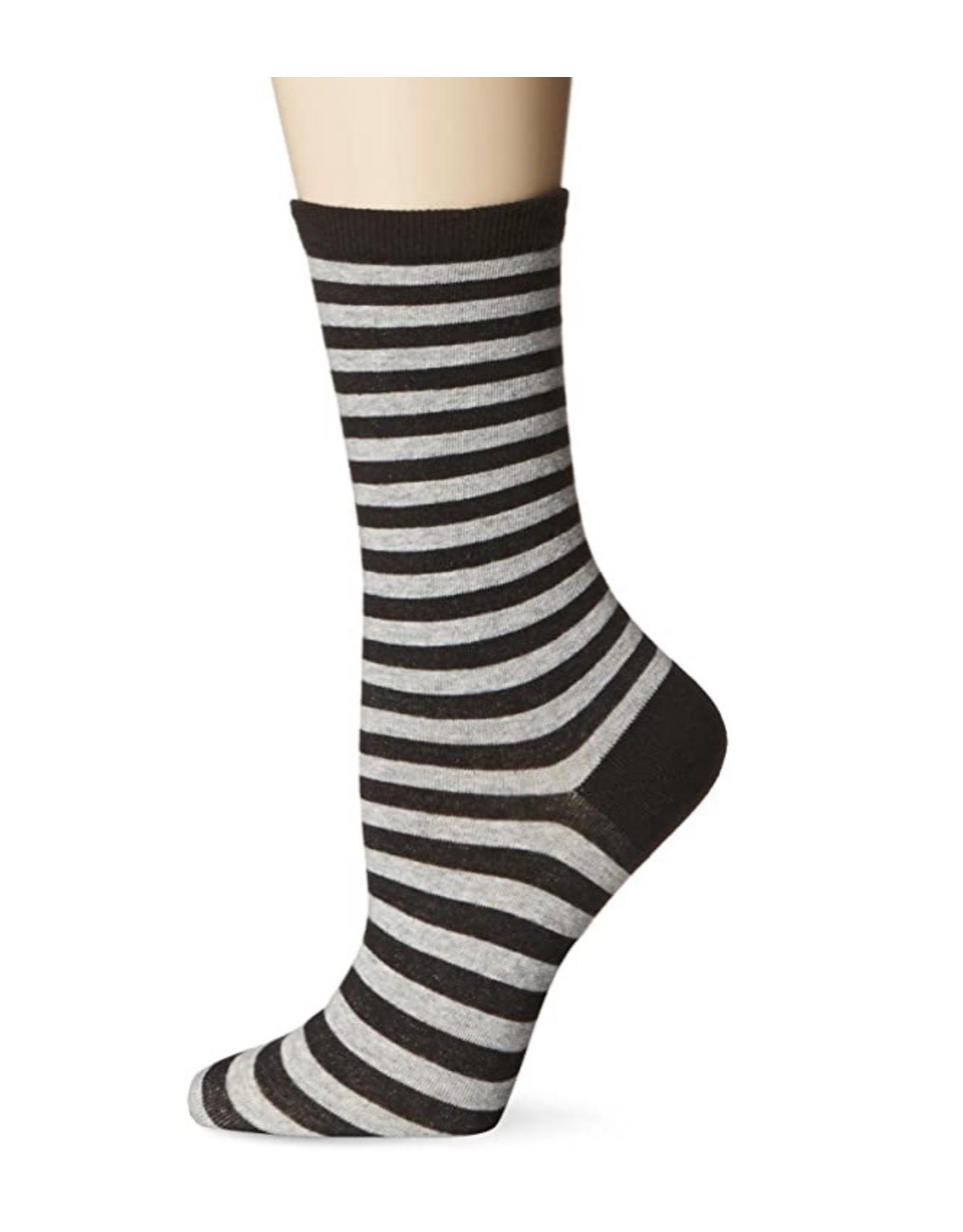 Hotsox Hotsox Thin Stripe Crew Socks HO000221