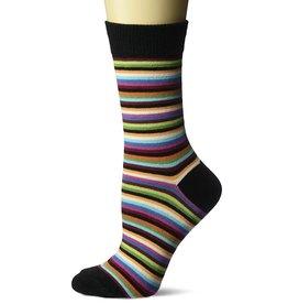 Hotsox Hotsox Classic Stripe Crew Socks HO000091