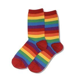 Hotsox Hotsox Bold Stripe Crew Socks HO0002971