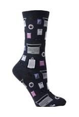 Hotsox Hotsox Women's Accountant Crew Socks HO002775