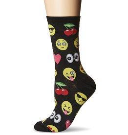 Hotsox Hotsox Women's Emoji Crew Socks HO000813