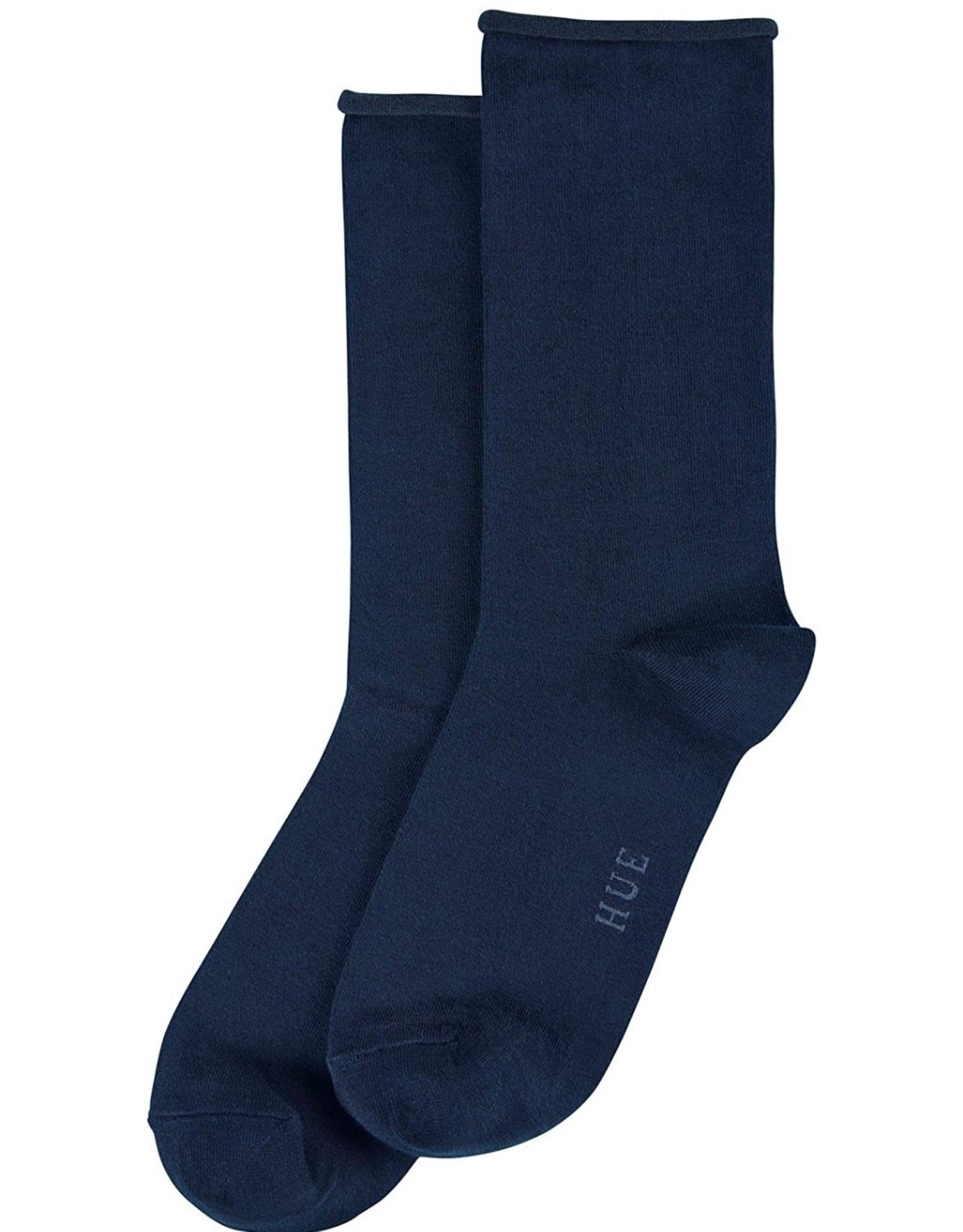 Hue Hue Women's Roll Top Jeans Socks U6487