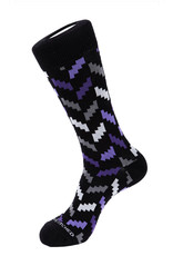 Unsimply Stitched Unsimply Stitched Men's Zig Zag Socks
