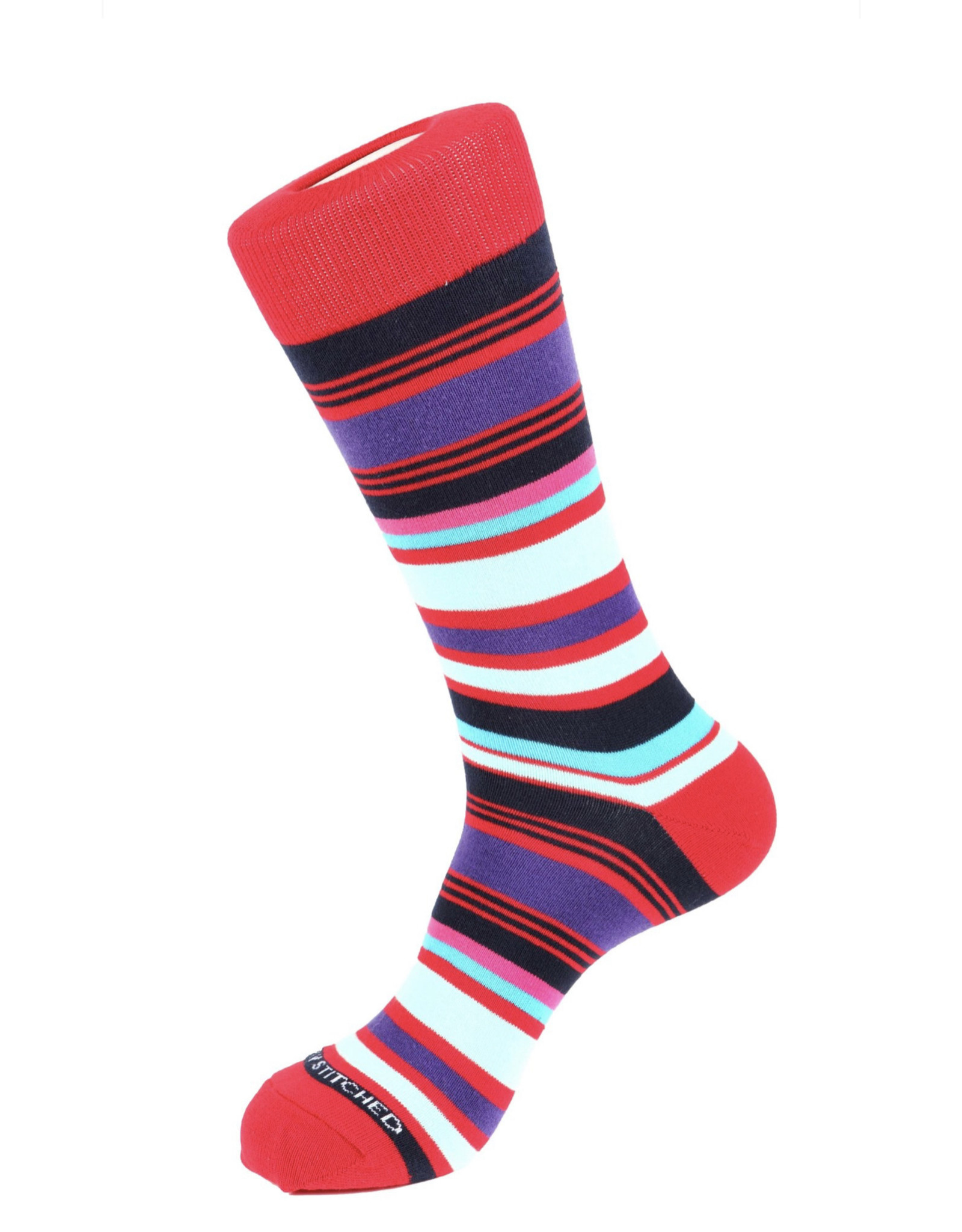 Unsimply Stitched Unsimply Stitched Men's Elegant Stripe Socks