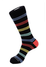 Unsimply Stitched Unsimply Stitched Men's Cowboy Stripe Socks