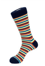 Unsimply Stitched Unsimply Stitched Men's 5MM Stripe Socks