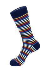 Unsimply Stitched Unsimply Stitched Men's Bubble Gum Stripe Socks