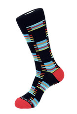 Unsimply Stitched Unsimply Stitched Men's Block Stripe Socks