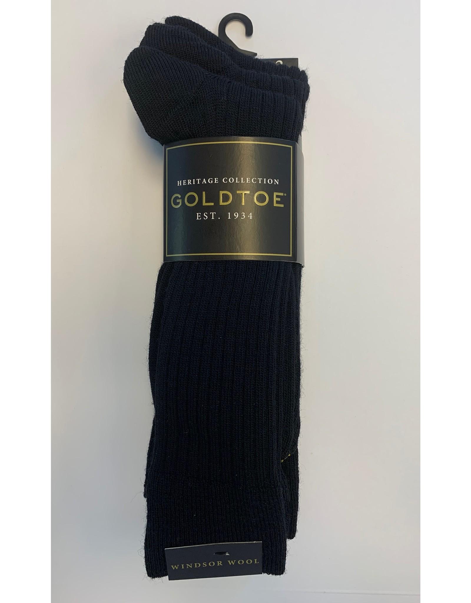 Goldtoe Goldtoe Men's Winsor Wool Reinforced Toe Socks - 3 Pack 1446S