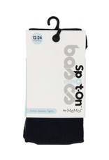 Memoi Memoi Spot-On Basics Baby Girls Cotton Sweater Tights sp-3400B