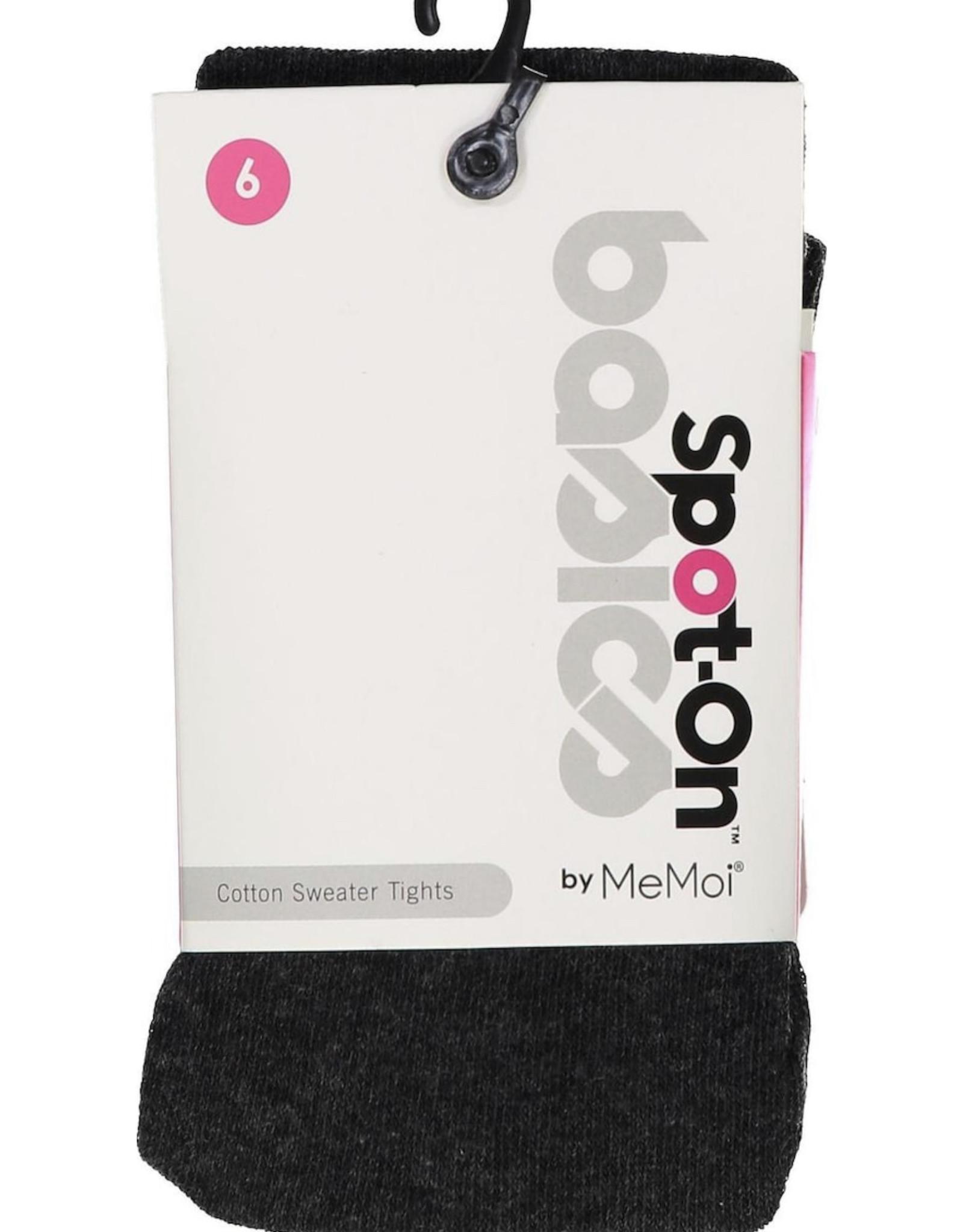 Memoi Memoi Spot-On Basics Girls Cotton Sweater Tights SP-3400