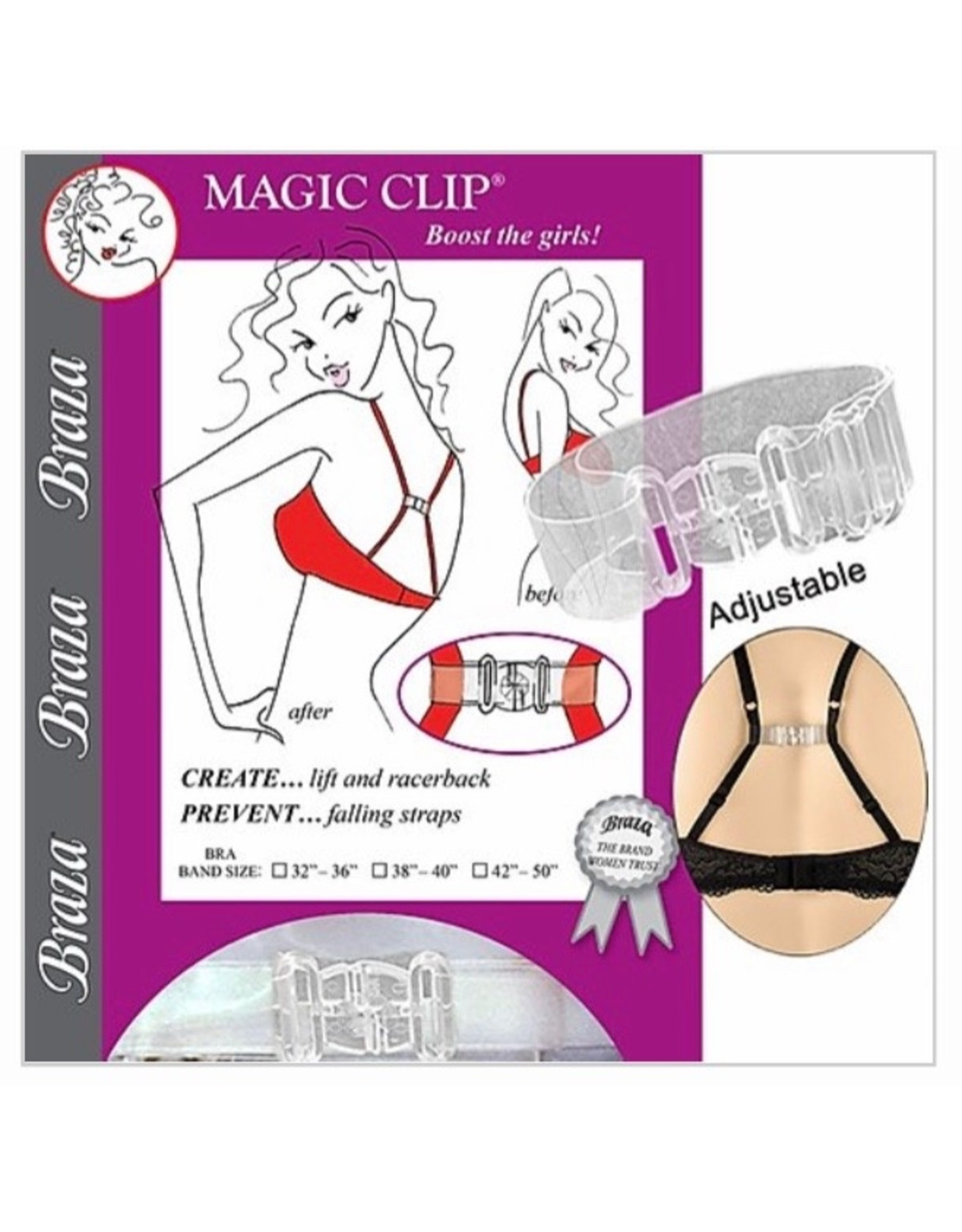 Braza Braza Women's Magic Clip