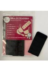 Braza Braza Women's Bra Back Extenders 3-Pack