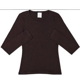 Kiki Riki Kiki Riki Women's Long Sleeve Cotton Scoop Neck Shell 14653