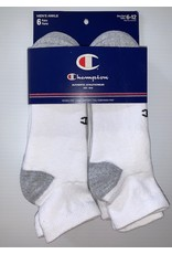 Champion Champion Men's Athletic Ankle Socks 6-Pack
