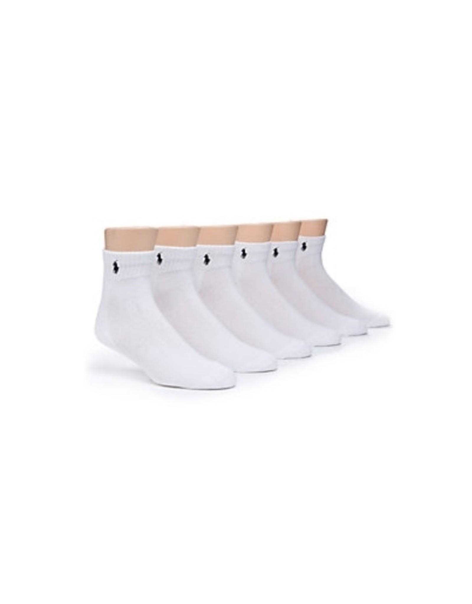 Polo Ralph Lauren Polo Ralph Lauren Men's Ankle Cotton Sport Socks 6-Pack