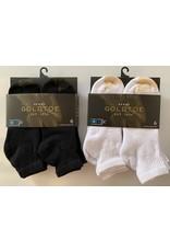 Goldtoe Goldtoe Men's Cotton Athletic Quarter Socks 6-Pack