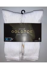 Goldtoe Goldtoe Men's Cotton Athletic Crew Socks 6-Pack