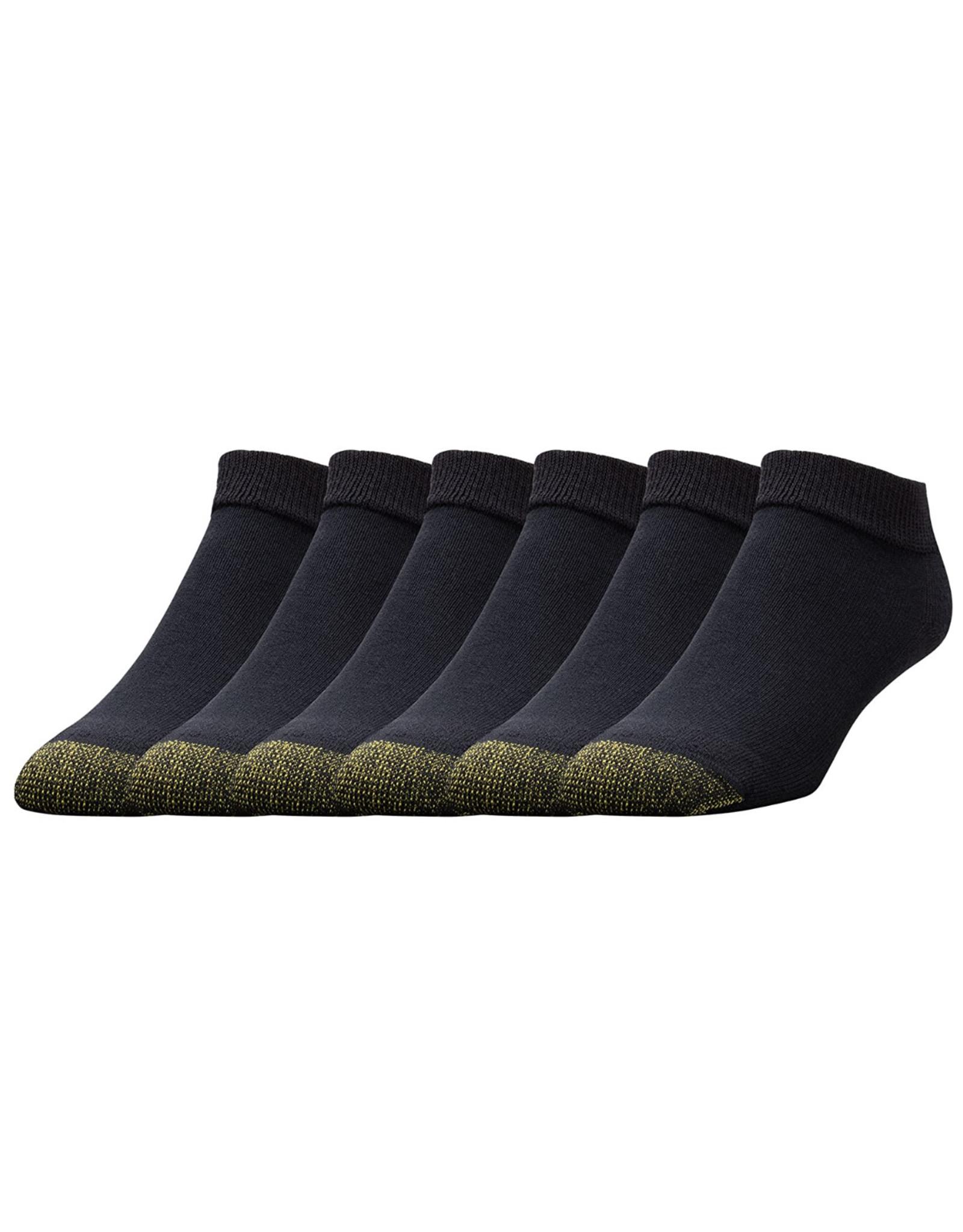 Goldtoe Goldtoe Men's Cotton Athletic Low Cut Socks 6-Pack