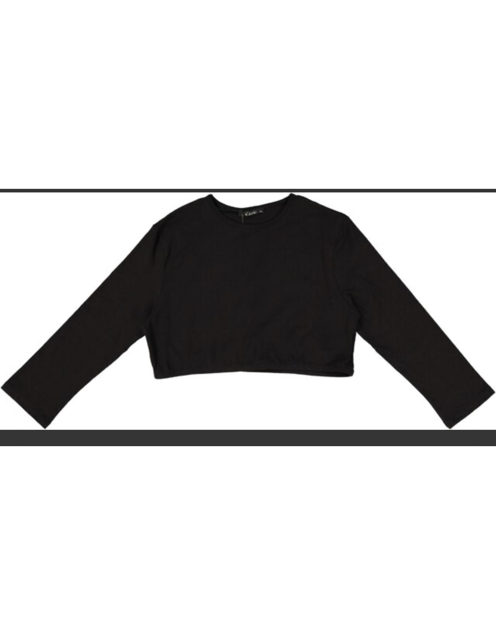 Kiki Riki Kiki Riki Women's Crop 3/4 Length Sleeve Shell 14916