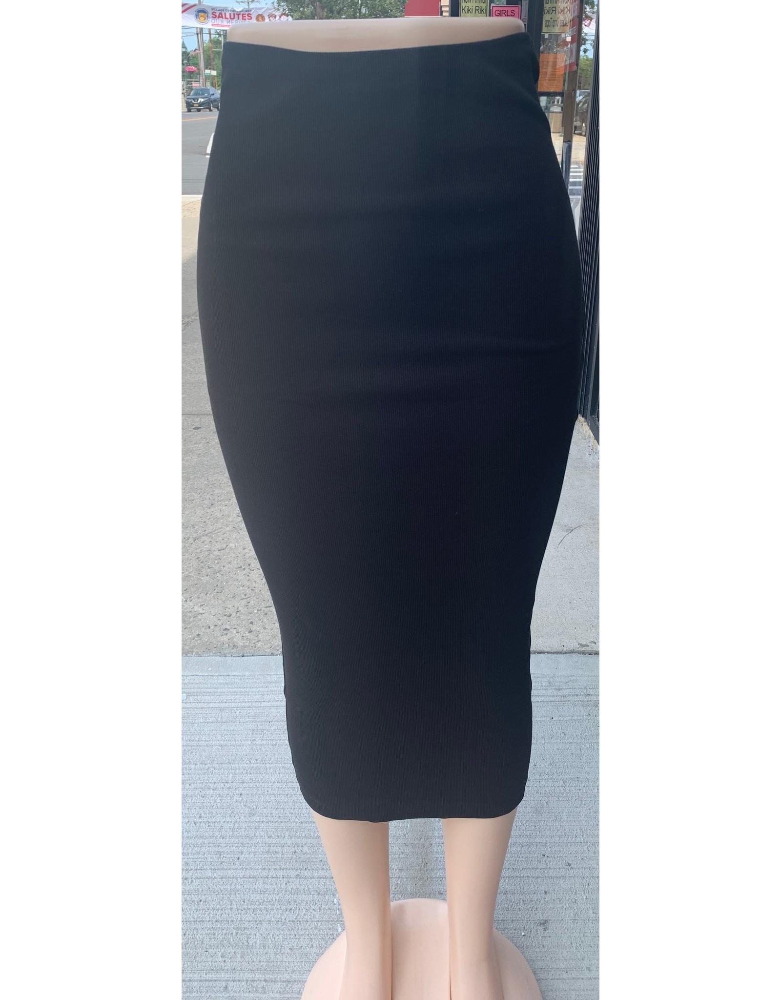 Kiki Riki Kiki Riki Women's Ribbed Midi Skirt 42069