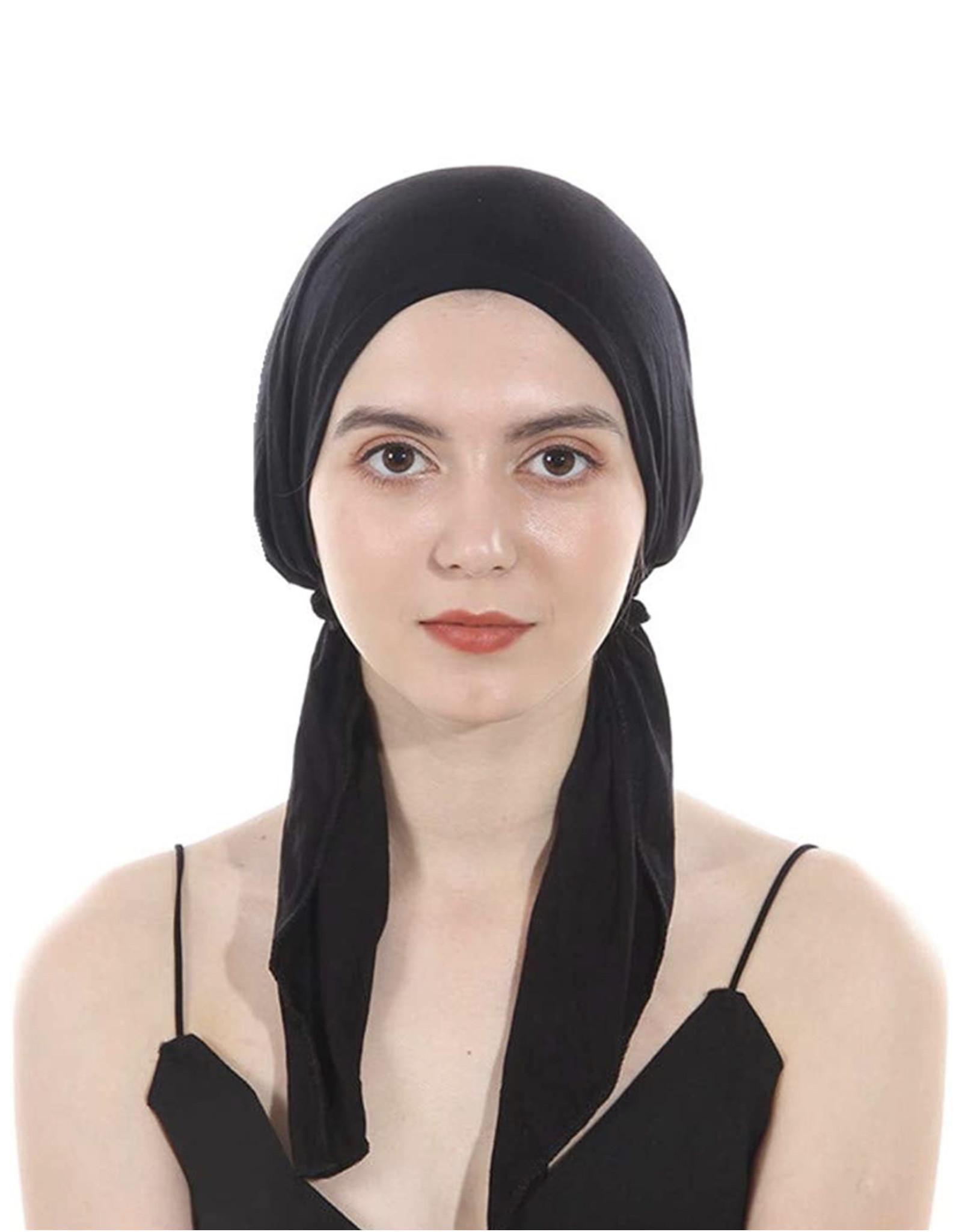 Cherie Cherie Women's Cotton Long-tie Pretied HeadScarf