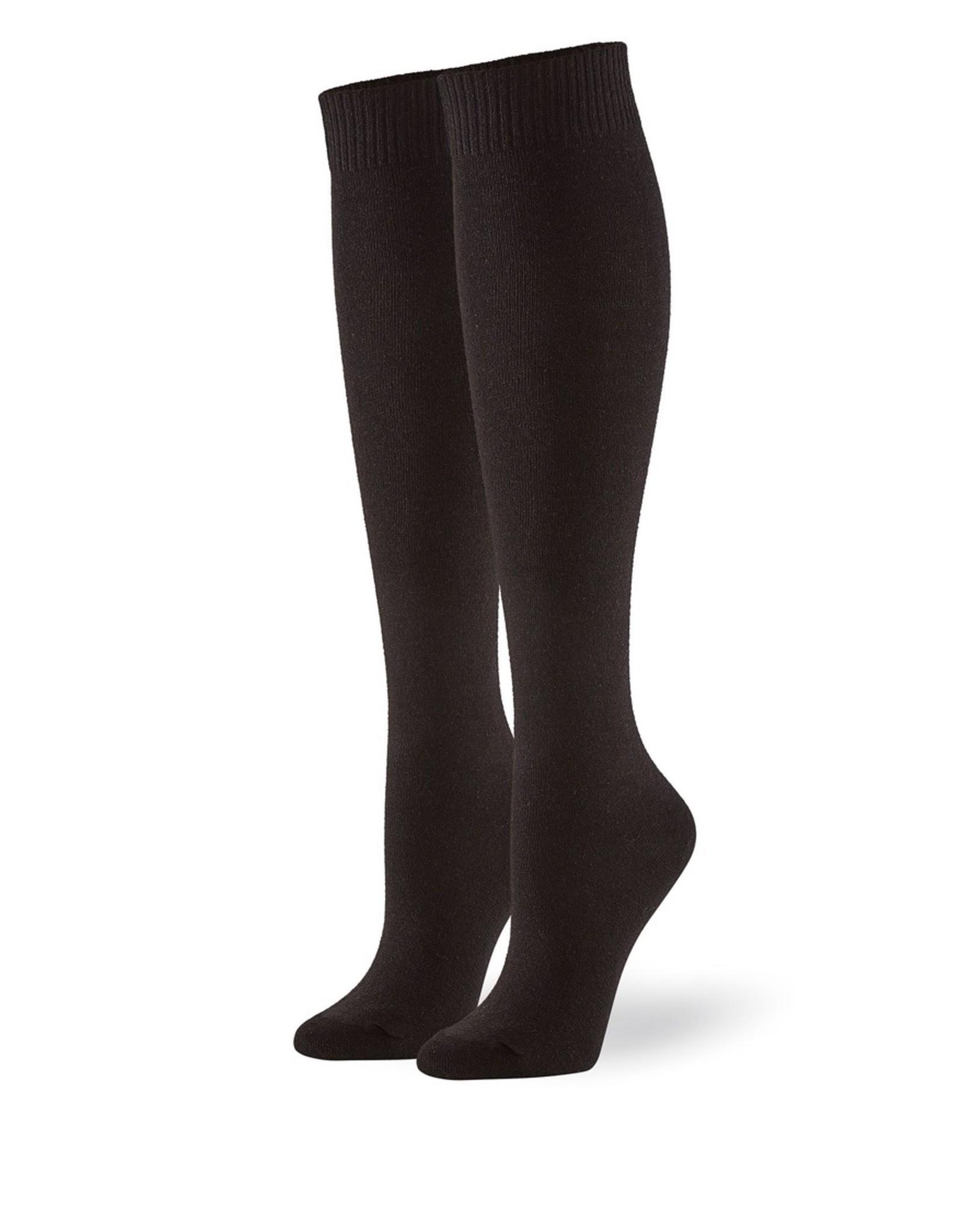 Hue Hue Flat Knit Knee Socks 3 Pair Pack U21135