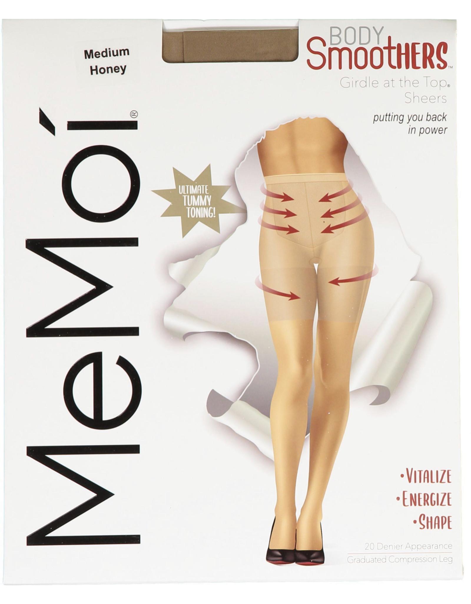 Memoi Memoi Women's Girdle at the Top Sheers Pantyhose MM-286