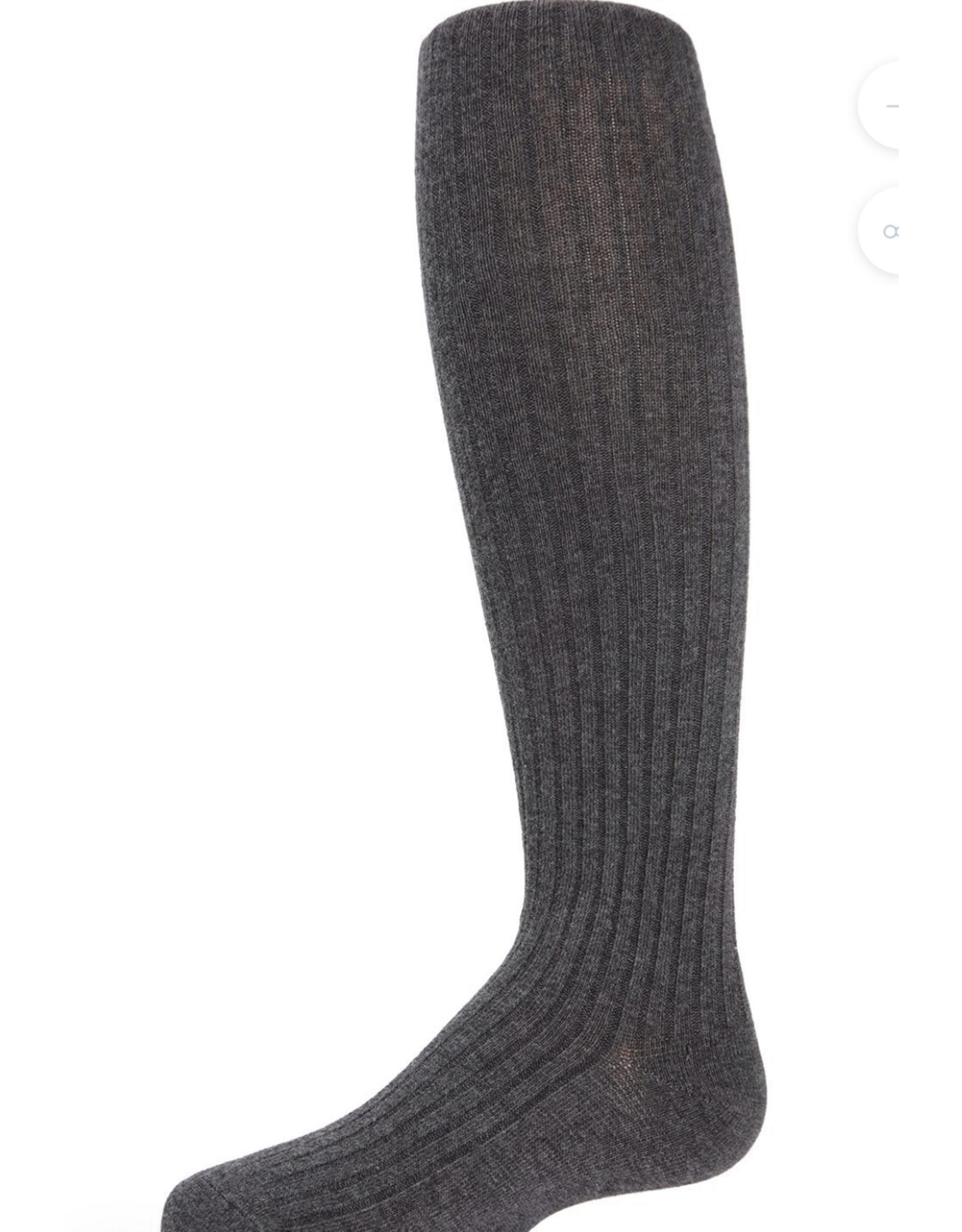Memoi Memoi Girls Cotton Sweater Ribbed Tights SP-3405