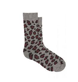 Hue Hue Leopard  Boot Sock U21553