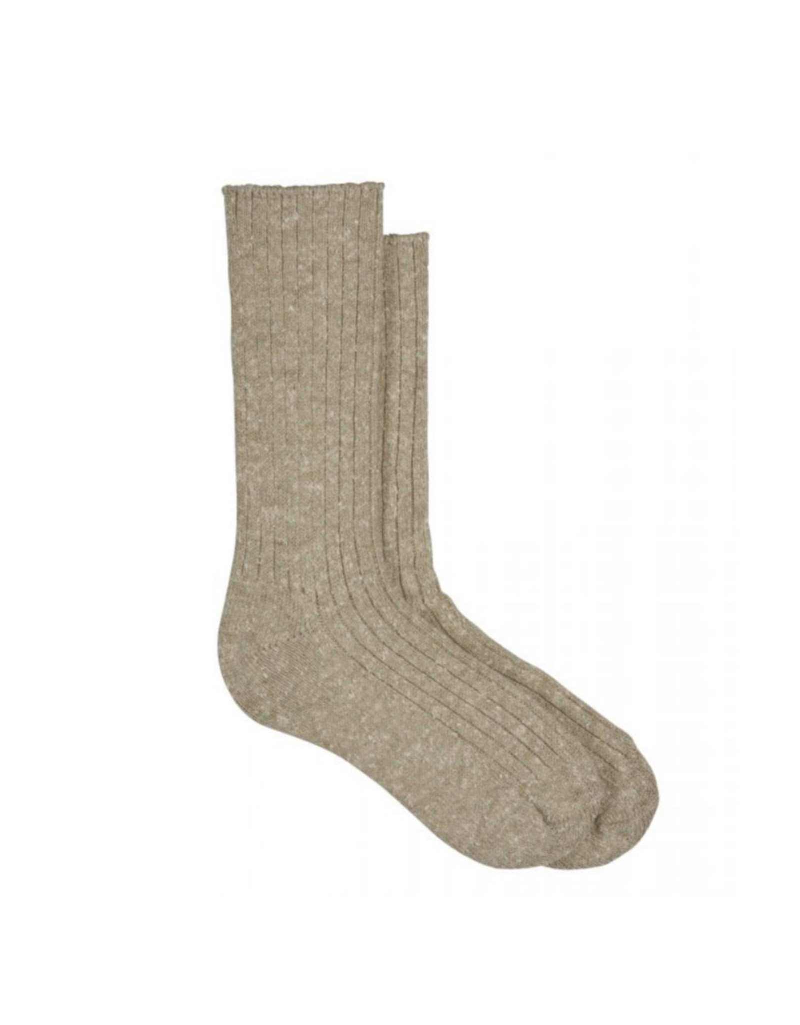 Hue Hue Tweed Ribbed Boot Sock U21130