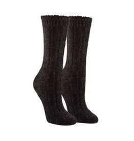 Hue Hue Wide Ribbed Chenille Boot Sock U20850