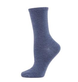Memoi Memoi Flatknit Cashmere Crew Sock MCL05870