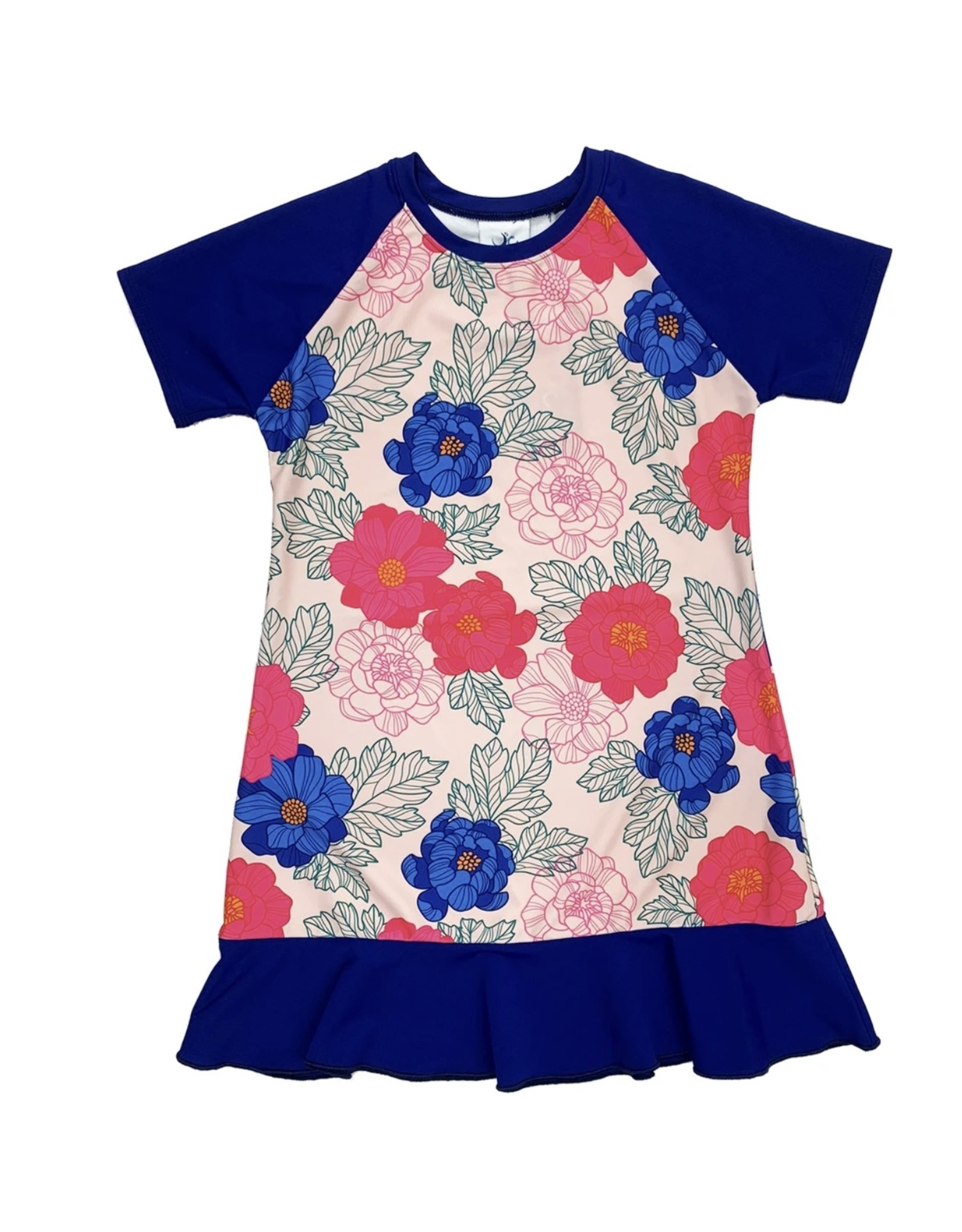 Undercover Waterwear Undercover Waterwear Kids Floral Mini Me Swim Dress