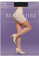 Berkshire Berkshire Silky Extra Wear Control Top Pantyhose with Reinforced Toe - 4428