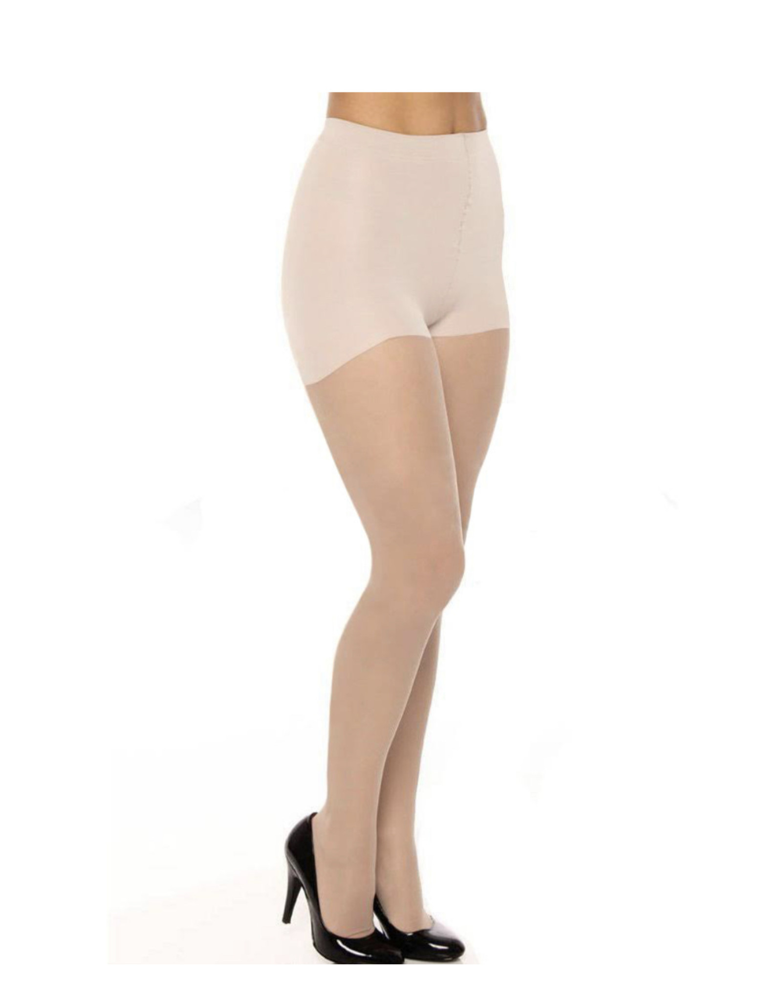 Berkshire Berkshire Silky Sheer Light Support Graduated Compression Leg Pantyhose with Reinforced Toe - 8101