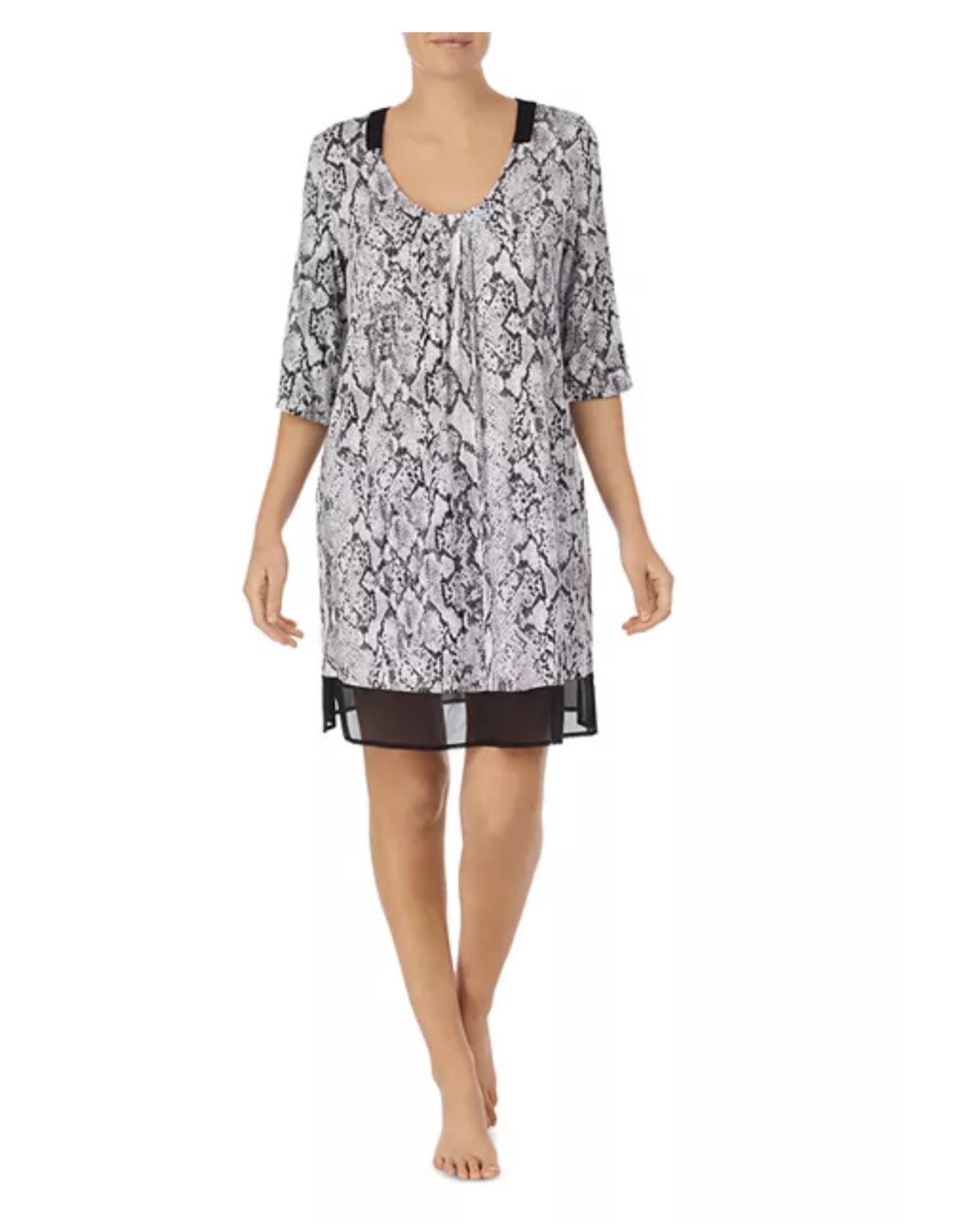 Donna Karan Donna Karan Women's Snake Print Sleepshirt