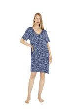 Donna Karan Donna Karan Women's Ink Animal Designs Lounge Dress