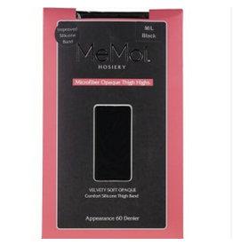 Memoi Memoi Ladies Microfiber Opaque Thigh Highs MS-746