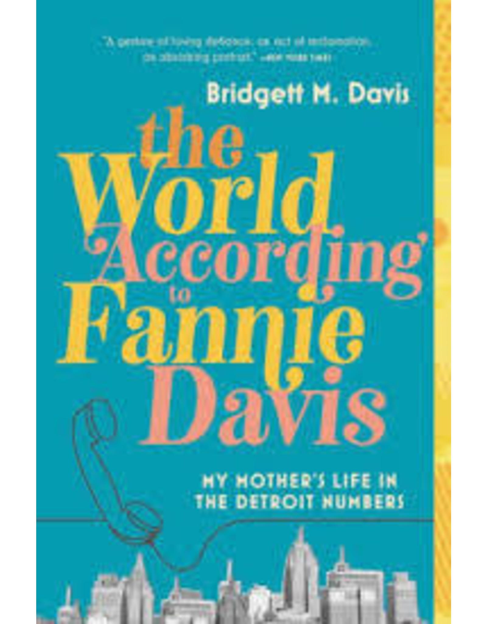 Books The World According to Fannie Davis by Bridgett M. Davis