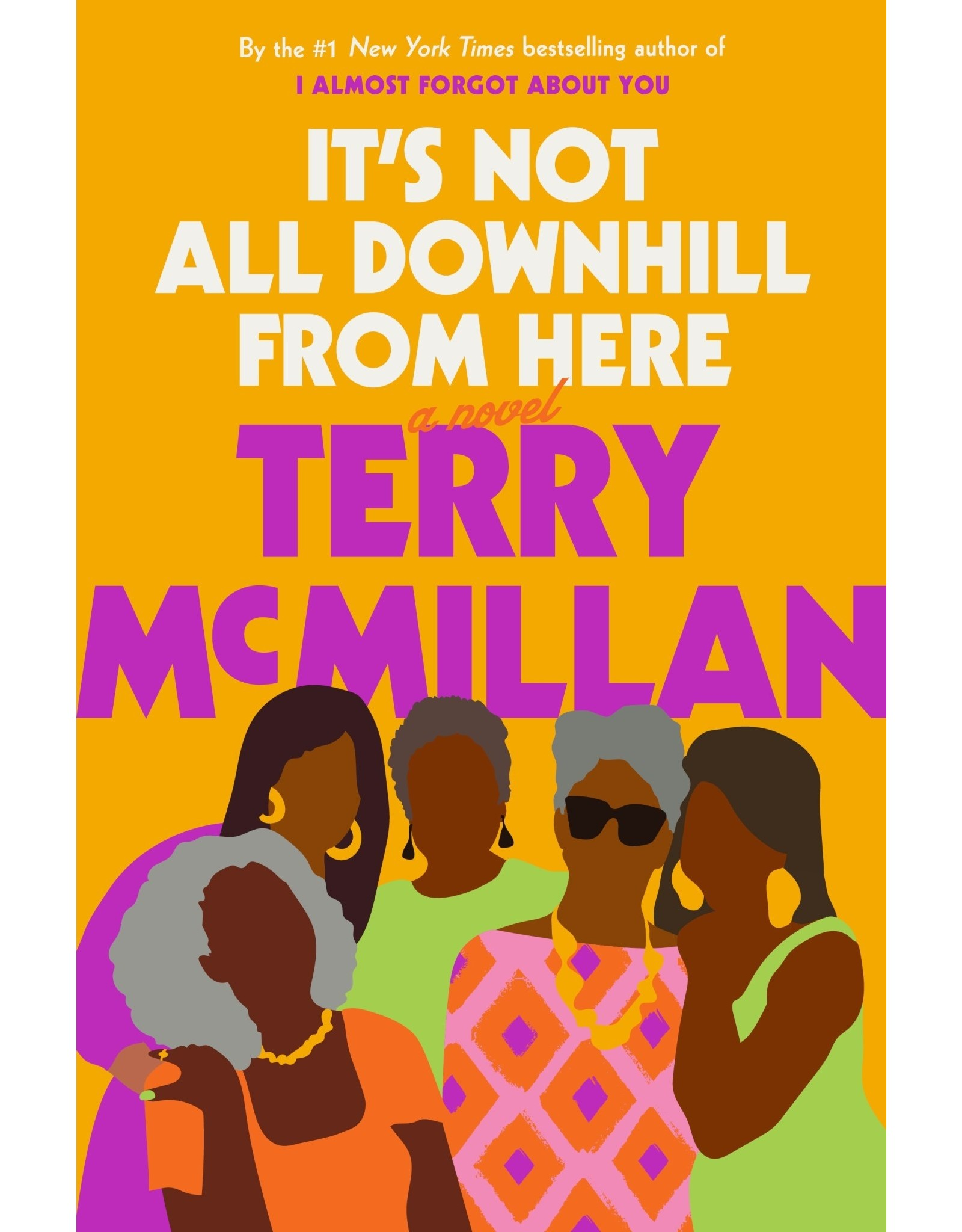 Books It's Not All Downhill From Here by Terry McMillan