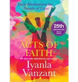 Books Acts of Faith by Iyanla Vanzant  25th Anniversary Ed.
