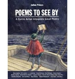 Books Poems to See: A Comic Artist Interpets Great Poetry by Julian Peters (shopsmall2020)