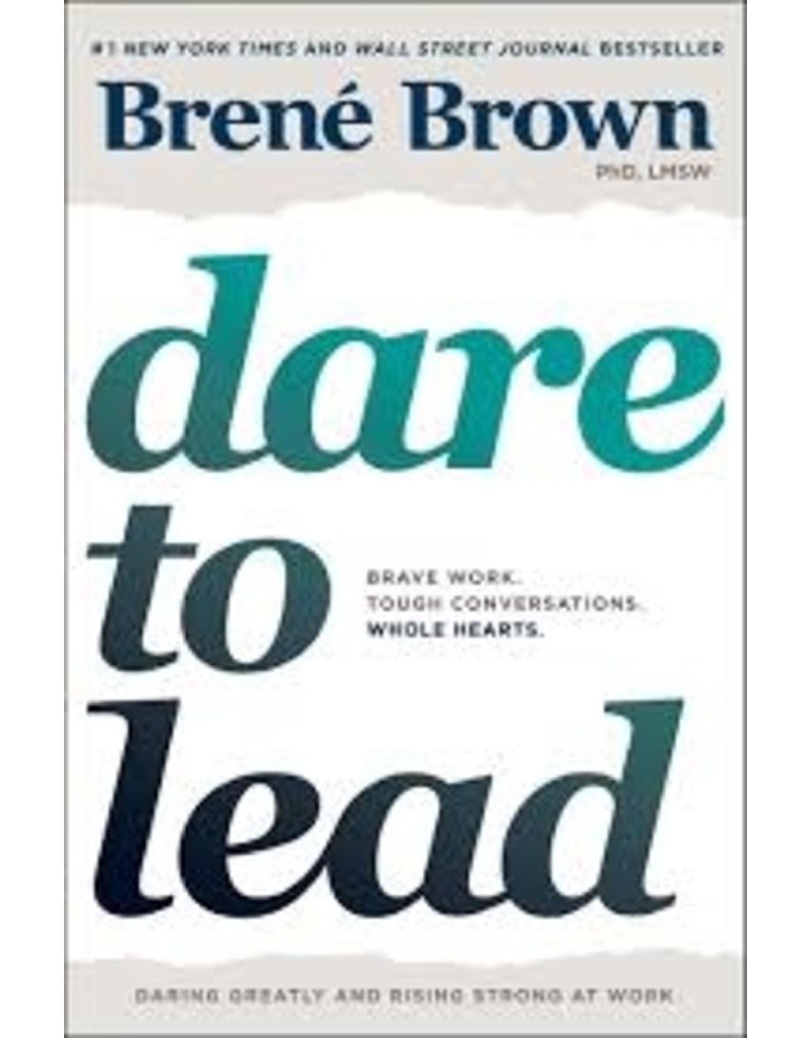 Books Dare to Lead by Brene Brown (Love Week)