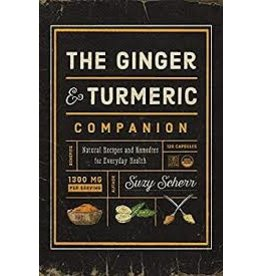 Books The Ginger Turmeric by Suzy Scherr (sourceathome)