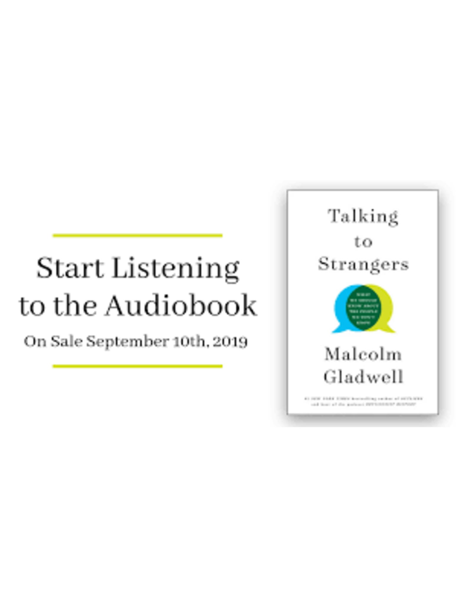 Books Talking to Strangers by Malcolm Gladwell