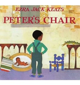 Books Peter's Chair by Ezra Jack Keats Board Book (Brilliant Detroit)