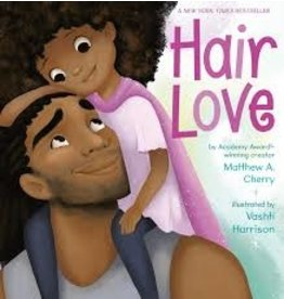 Books Hair Love by Matthew A. Cherry Illustrated by Vashti Harrison (DWS)