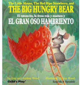 Books The Little Mouse, the Red Ripe Strawberry, and The Big Hungry Bear by Don and Audrey Wood